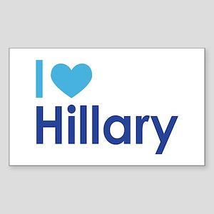 I Heart Hillary Sticker