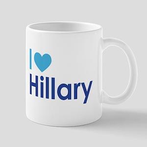 I Heart Hillary Mugs