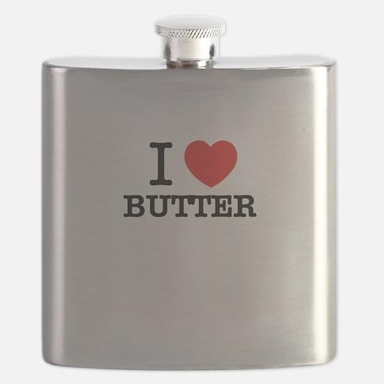 I Love BUTTER Flask