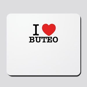 I Love BUTEO Mousepad