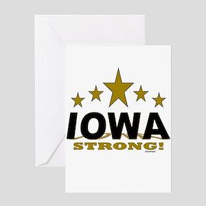Iowa Strong! Greeting Card