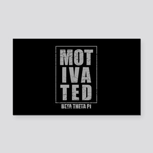 Beta Theta Pi Motivated Rectangle Car Magnet