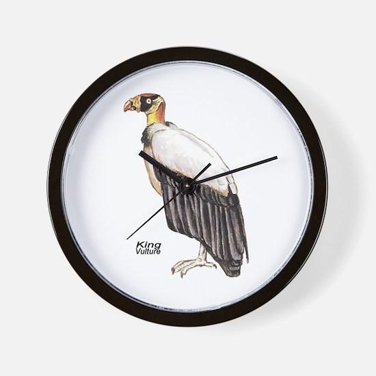King Vulture Bird Wall Clock