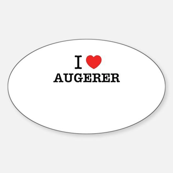 I Love AUGERER Decal