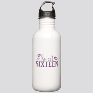 Sweet Sixteen 16 Birth Stainless Water Bottle 1.0L