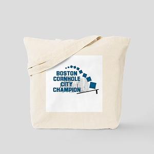 Boston Cornhole City Champion Tote Bag