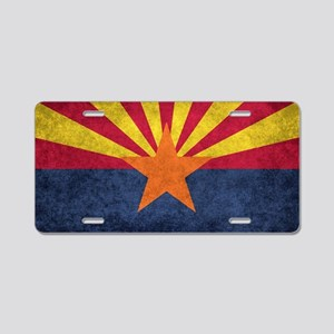 Arizona state flag - vintag Aluminum License Plate