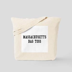 Massachusetts Bag Toss Tote Bag