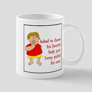 Leroy's Nose Mug