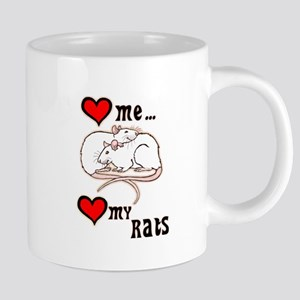 Love Me, Love My Rats Mugs