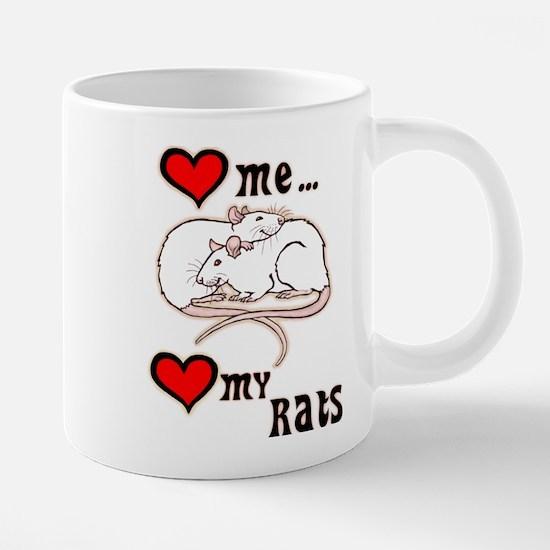 Love Me, Love My Rats Mugs