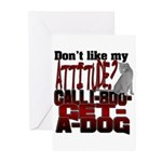 1-800-GET-A-DOG Greeting Cards (Pk of 10)