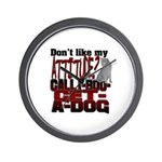 1-800-GET-A-DOG Wall Clock