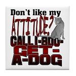 1-800-GET-A-DOG Tile Coaster