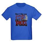 1-800-GET-A-DOG Kids Dark T-Shirt