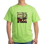 1-800-GET-A-DOG Green T-Shirt