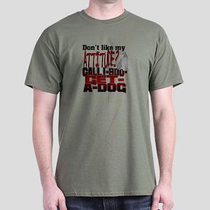 1-800-GET-A-DOG Dark T-Shirt