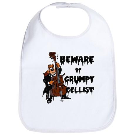 Grumpy Cellist Bib