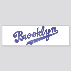 Throwback Brooklyn Bumper Sticker