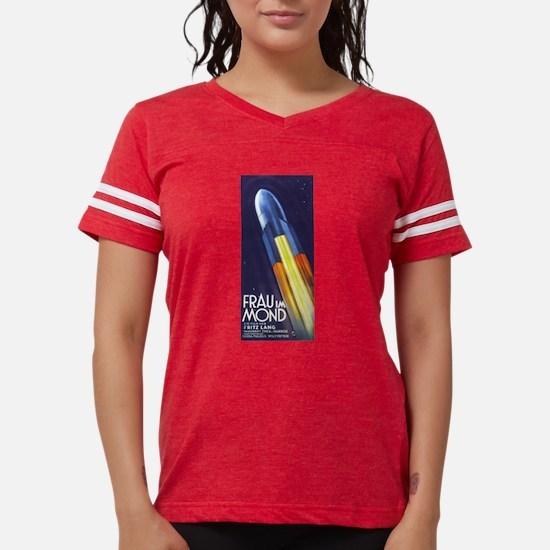 Woman in the Moon - Frau im Mon T-Shirt