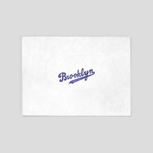Throwback Brooklyn 5'x7'Area Rug
