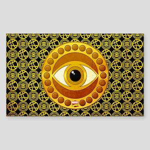 Doctor Strange Eye of Agamotto Sticker (Rectangle)