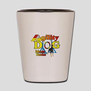 Doberman Agility Shot Glass
