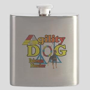 Doberman Agility Flask
