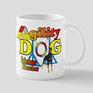 Doberman Agility Mug
