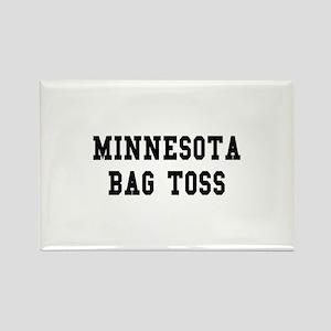 Minnesota Bag Toss Rectangle Magnet