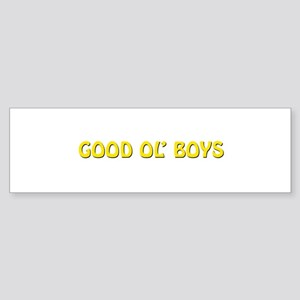 Good Ol' Boys Bumper Sticker