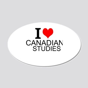 I Love Canadian Studies Wall Decal