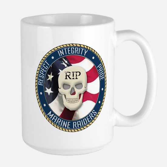 RIP Marine Raiders Large Mug