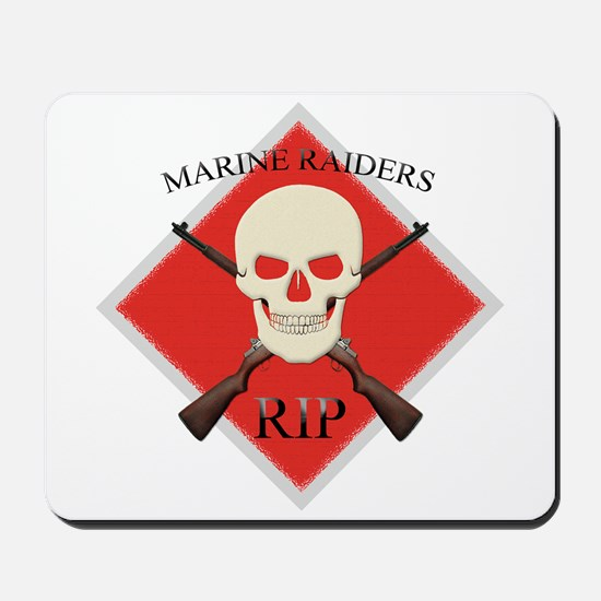 RIP Marine Raiders Mousepad