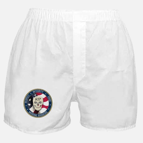 RIP Marine Raiders Boxer Shorts