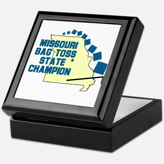 Missouri Bag Toss State Champ Keepsake Box