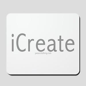 iCreate Mousepad