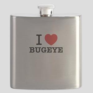 I Love BUGEYE Flask