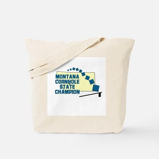 Montana Cornhole State Champi Tote Bag
