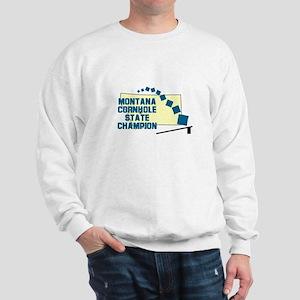 Montana Cornhole State Champi Sweatshirt