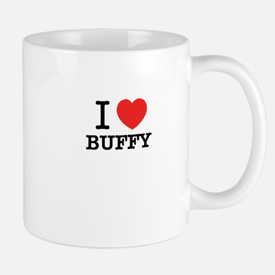 I Love BUFFY Mugs