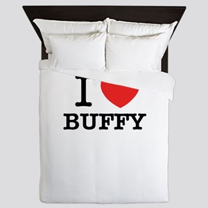 I Love BUFFY Queen Duvet
