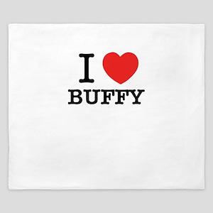 I Love BUFFY King Duvet