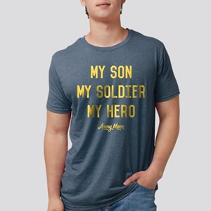 U.S. Army My Son My Soldier Mens Tri-blend T-Shirt