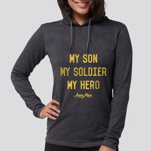 U.S. Army My Son My Soldier My Womens Hooded Shirt