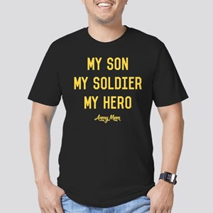 U.S. Army My Son My So Men's Fitted T-Shirt (dark)