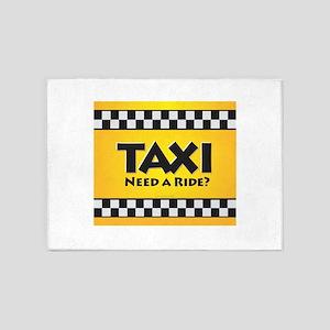 Taxi 5'x7'Area Rug