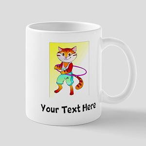 Cat Hula Hooping (Custom) Mugs