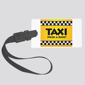 Taxi Large Luggage Tag