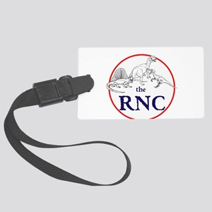 the RNC, dinosaurs Luggage Tag
